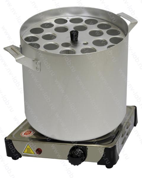 Баня водяная для жиромеров (бутирометров) с электроплиткой БЖ-1